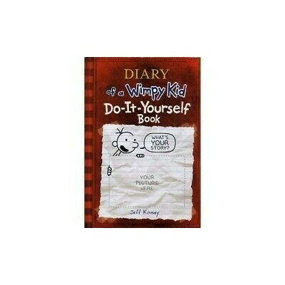 Diary of a Wimpy Kid Do-It-Yourself Book by Jeff Kinney Book The Cheap Fast Free