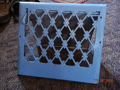 VINTAGE cast     WALL REGISTER  FURNACE HEAT WALL GRATE COVER