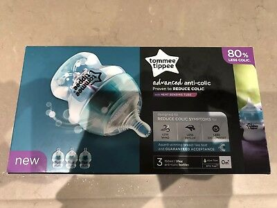 tommee tippee anti colic bottles 150ml