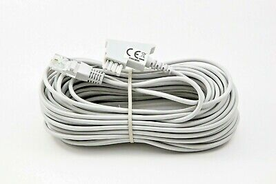 15m DSL IP Kabel AVM Fritzbox 7590 7490 7580 7560 7530 7430 7412 7390 7362 grau