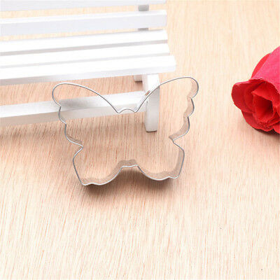 butterfly cookie molds stainless steel decoration cookie cutter baking tools  DS
