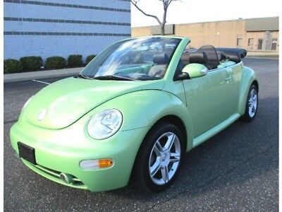 2005 Beetle-New GLS 1.8T 2005 Volkswagen Beetle GLS 1.8T Convertible 5 Speed Only 43K Miles Rare Color