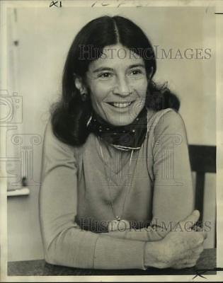 1974 Press Photo Emily Malino, Author of Sears' Course on Home Decorating