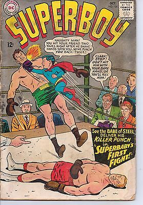 SUPERBOY #124  Oct 1965 DC COMICS