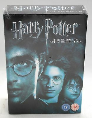 HARRY POTTER Complete 8 Film DVD Box Set Region 2 Rated 12  - Y99