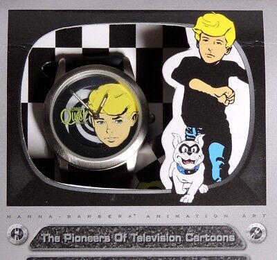 P984. Hanna-Barbera JONNY QUEST Pioneers of Animation LE Fossil Watch (1996)