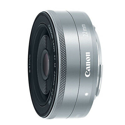 Canon EF-M 22mm f/2 STM Lens (Silver) *NEW*