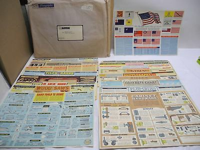 """Set of 18 GM Photographic 1962 Super Chevrolet Service 16.2"""" X 11"""" Posters Tools"""