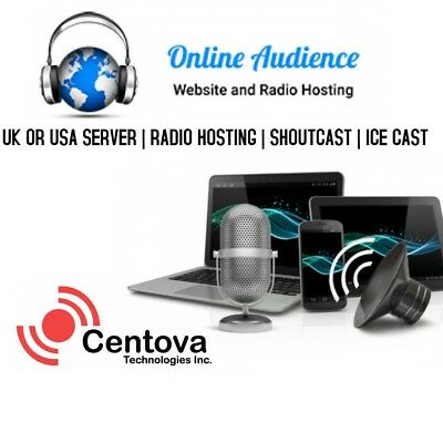 SHOUTCAST HOSTING WITH Auto DJ Unlimited BW 500MBPS