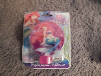 The Little Mermaid Night Light #2 (Brand New)