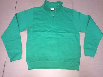 CLEARANCE New Mens AWDIs JH046 Sophomore Zip neck. Kelly XXL x 24. T47.