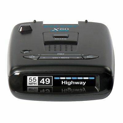 Radar Detector Bluetooth Range Voice Alerts Protection Dashboard Auto Speed