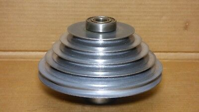 """Walker Turner 20"""" Drill Press 1100 Series - Spindle Step Pulley Assembly"""
