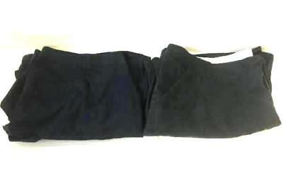 Lot Of 2 Plus Size Shorts by Cherokee- Navy Blue Black, Woman's Size 24W