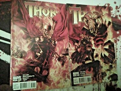 THOR -- issues #612 -&- 613  -- Marvel Comics LOT of 2 (2010) (cheap shipping