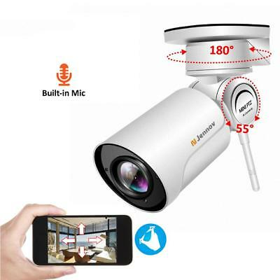 HD 2.0MP 1080P Wifi IP Wireless Security Cam Outdoor Waterproof CCTV PTZ Camera