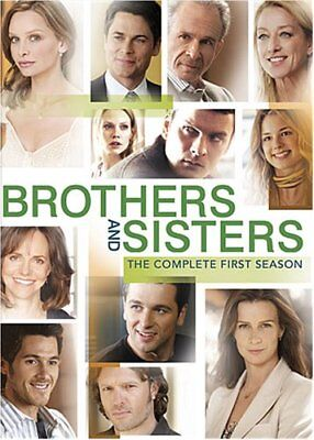 Brothers And Sisters Tv Series Complete First Season 1 Dvd 6-Disc Set New Sealed
