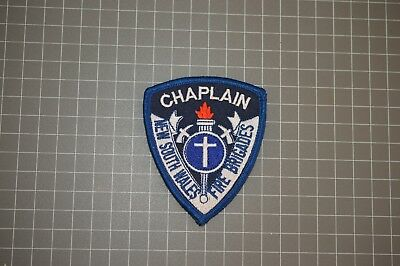 New South Wales Fire Brigades Chaplain Patch (B17-R)