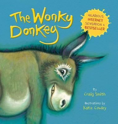 The Wonky Donkey Paperback Book By Craig Smith UK Brand New No.1 Bestseller