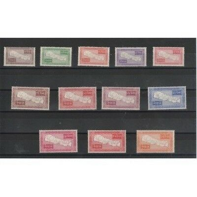 Nepal 1954 Papel Del Paese 12 Val Mlh Mf50818