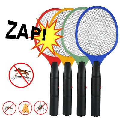 2PCS Bug Zapper Racket Handheld Electric Fly Killer Swatter Mosquito Insects Bat