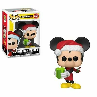 FUNKO POP! DISNEY: Mickey's 90th - Holiday Mickey [New Toys] Vinyl Figure