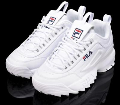 FILA Womens Disruptor 2 Sneakers Casual Athletic Running Walking Sports Shoes J