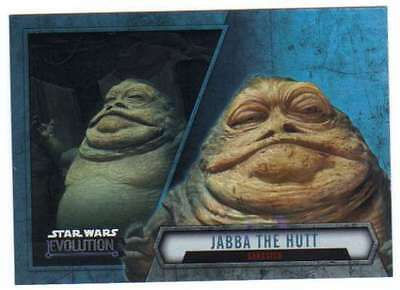 2016 Topps Star Wars Evolution Cartes à Collectionner #82 Jabba le Hutt Gangster