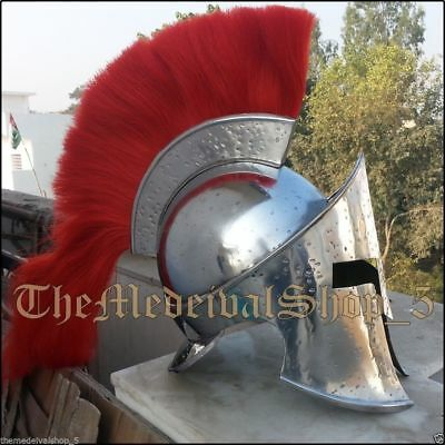 GAME  PARSO A Collectible Medieval Armour KING LEONIDAS GREEK SPARTAN 300 HELMET