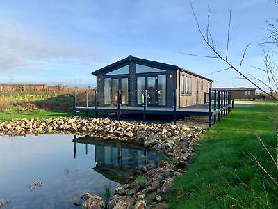Luxury Super Lodge Holiday Home For Sale on Lake View Pitch in North Wales