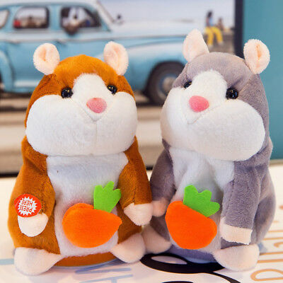 Cheeky Hamster Repeats What You Say Electronic Pet Talking Plush Toy Gift 2019
