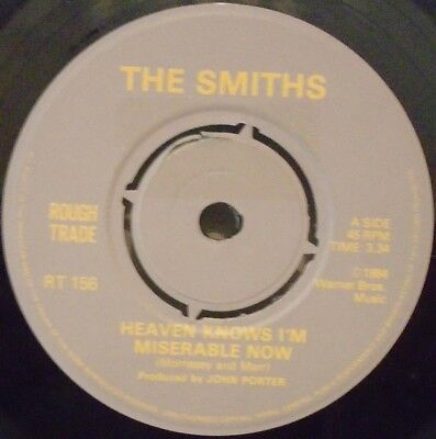 "THE SMITHS ~ Heaven Knows Im Miserable Now ~ 7"" Single"