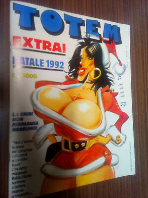 Totem Supplemento A N.4 1992 - Extra Natale 1992 - Edicola