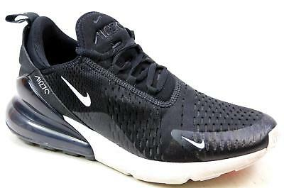 Mens Nike Air Max 270 Black Knit Mesh Running Active Sports Gym Trainers  Size 8 e4ff903486b