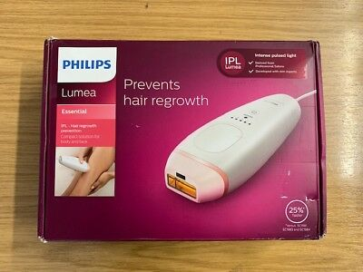 Philips Lumea Essential Portable IPL Hair Removal BRI861/00