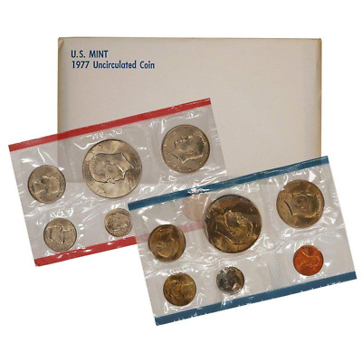1977 United States Mint Uncirculated Coin Set (pfs)