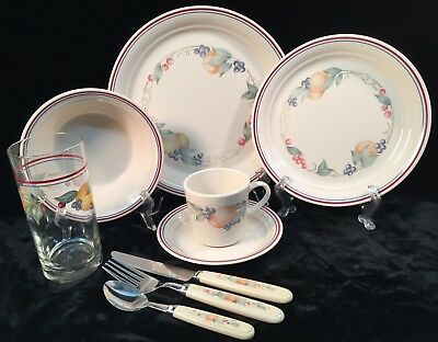 Corelle by Corning ABUNDANCE 39 Pieces Service For 4