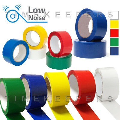 Coloured Packing Sellotape Long Length Tape Strong - 48mm x 66m Parcel Box Tape