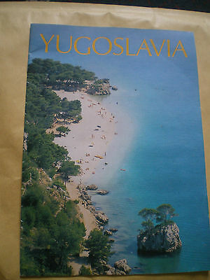 Yugoslavia Brochure - Vintage Holiday Brochure
