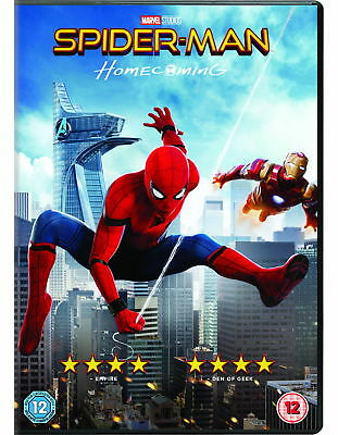 Spider-Man Homecoming (2017) [New DVD]