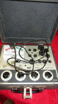 Vintage B&K Dyna Quik Model 600 Portable Tube Tester - For Ham Radio