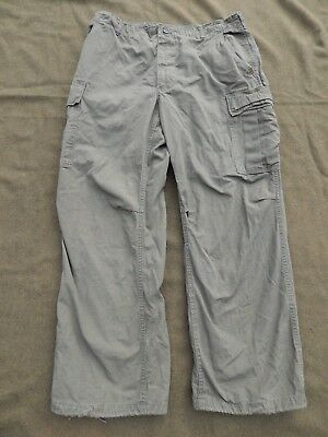 Vietnam War, U.S. Army, Tropical Jungle Trousers, Size LARGE-REGULAR, Dated 1969
