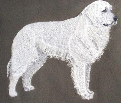 Embroidered Short-Sleeved T-Shirt - Great Pyrenees C9601 Sizes S - XXL