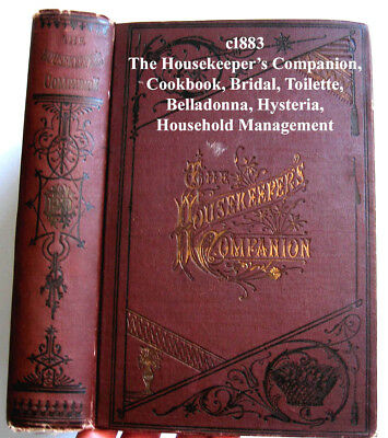 Antique Housekeepers Companion Home Book E280