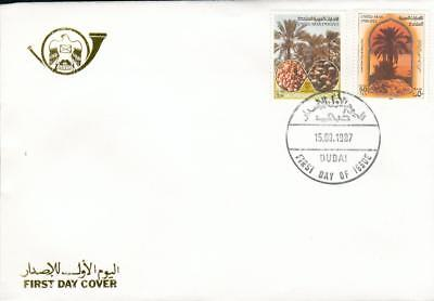 UAE United Arab Emirates Michel Nr. 231-232 on FDC fr13