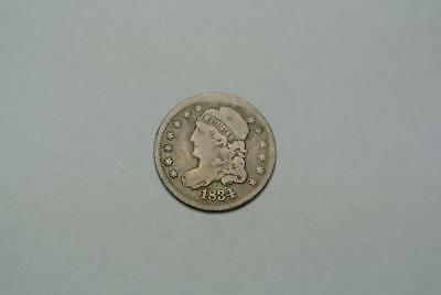 1834 Capped Bust Liberty Half Dime, VG to Fine Grade - C6943