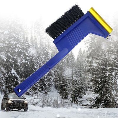 Snow Removal Ice Scraper Car Multifunctional Tool Snow Brush With Safety Hammer