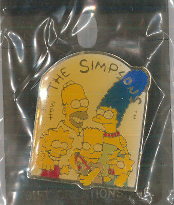 The Simpsons pin - Animation cartoon TV badge