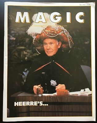 MAGIC Independent Magazine for Magicians May 1992 with Johnny Carson