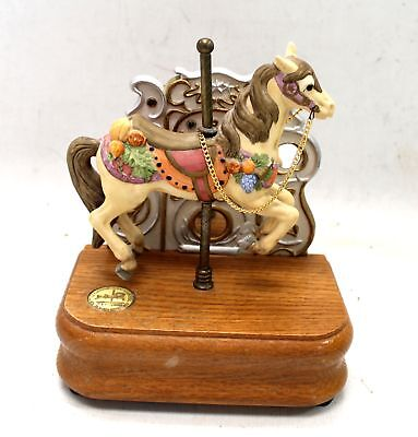 TOBIN FRALEY 'The American Carousel' 4th Edition Musical Ornament /UNBOXED - H26